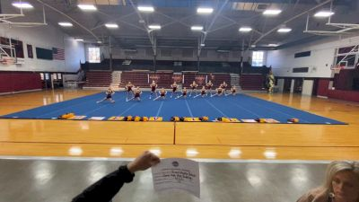 Russell Middle School [Junior Non Building Virtual Semi Finals] 2021 UCA National High School Cheerleading Championship