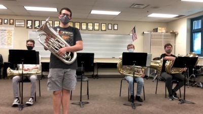 Avon HS Tuba Quartet - March from Second Suite