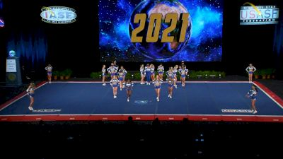 University Cheer Force - Category 6 [2021 L6 International Open Small Coed Finals] 2021 The Cheerleading Worlds