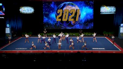 Charlotte Allstar Cheerleading - Charlotte Allstar Cheerleading Teal [2021 L6 Senior Open Large Coed Semis] 2021 The Cheerleading Worlds