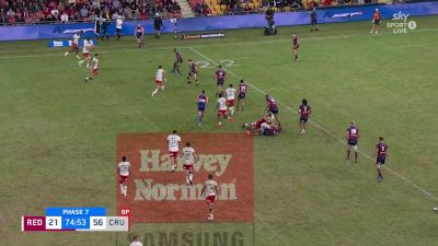Codie Taylor with a Try vs Queensland Reds