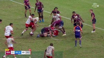 Tamaiti Williams with a Try vs Queensland Reds
