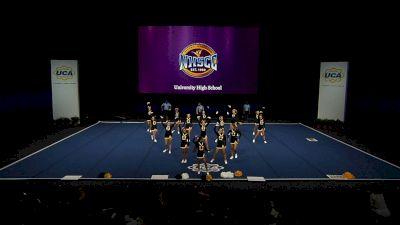 University High School [2021 Small Varsity Division II Semis] 2021 UCA National High School Cheerleading Championship