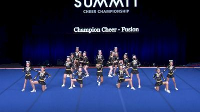 Champion Cheer - Fusion [2021 L4 Junior - Small Wild Card] 2021 The Summit