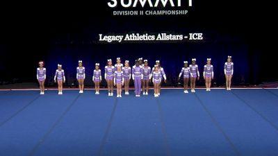 Legacy Athletics Allstars - ICE [2021 L3 Junior - Small Wild Card] 2021 The D2 Summit