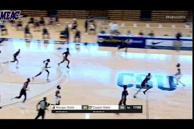 2021 Morgan State vs Coppin State - Men's - Highlight