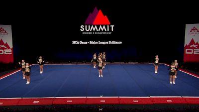 HCA Gems - Major League Brilliance [2021 L4.2 Senior - Small Finals] 2021 The D2 Summit
