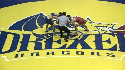 133 - Jarrett Trombley (NC State) vs Chase Shields (Drexel)