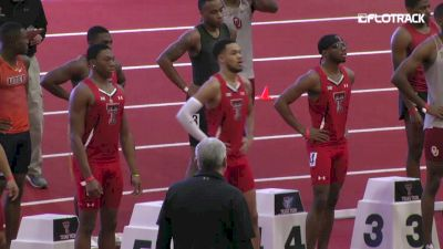 Men's 60m, Heat 1 - Andrew Hudson NCAA No. 4 6.65!