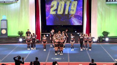 Top Gun All Stars - Sick6 [2019 L6 International Open Small Coed Finals] 2019 The Cheerleading Worlds