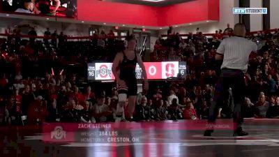 184lbs Match: Zach Steiner, Ohio State vs Nick Addison, Stanford
