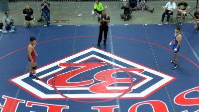195 Final, Santos Cantu, OR vs Brandon Hoselton, IL