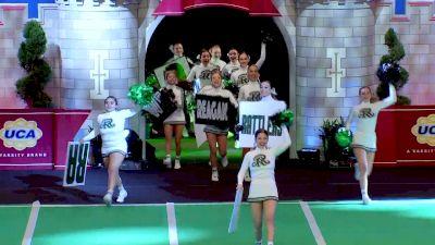 Ronald Reagan High School [2020 Large Game Day Division I Semis] 2020 UCA National High School Cheerleading Championship