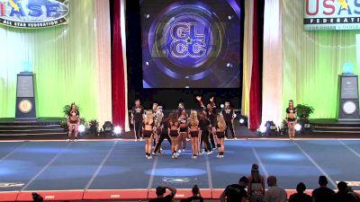 GymTyme Illinois - SMOKE [2019 L5 Senior Open Large Coed Semis] 2019 The Cheerleading Worlds