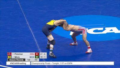 133 3rd, Luke Pletcher, tOSU vs Stevan Micic, Michigan
