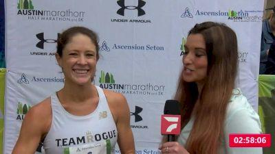 Sarah Jackson | Women's Marathon Winner