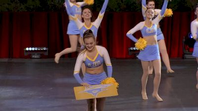 Long Island University [2020 Division I Dance Game Day Semis] 2020 UCA & UDA College Nationals
