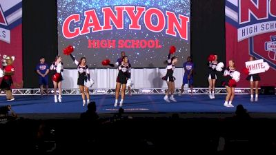 Canyon High School [2020 Game Day Band Chant - Small Varsity] 2020 NCA High School Nationals