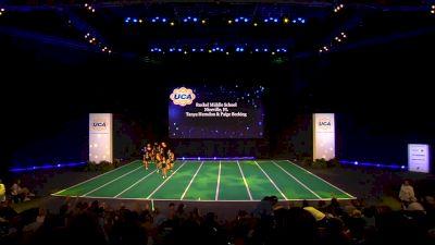 Ruckel Middle School [2020 Junior High Game Day Semis] 2020 UCA National High School Cheerleading Championship