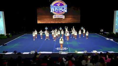 Baton Rouge Bengals Senior White [2020 Senior Club Semis] 2020 UCA National High School Cheerleading Championship