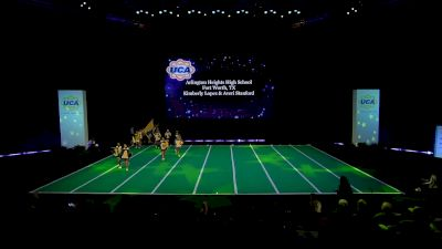Arlington Heights High School [2020 Large Non Tumbling Game Day Prelims] 2020 UCA National High School Cheerleading Championship