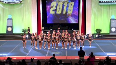 Infinity Allstars - Royals [2019 L5 Senior Open All Girl Finals] 2019 The Cheerleading Worlds