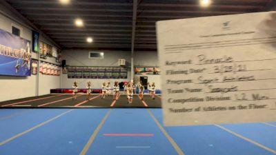 Spirit Athletics - SassyCats [L2 Mini] 2021 The Regional Summit Virtual Championships