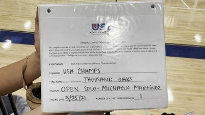 Thousand Oaks High School [Open - Solo] 2021 USA Virtual West Coast Dance Championships