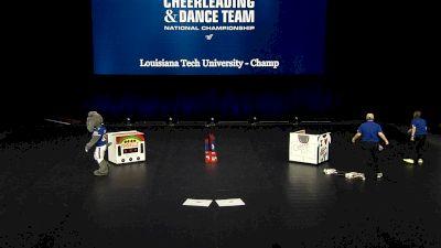 Louisiana Tech University - Champ [2021 Mascot Semis] 2021 UCA & UDA College Cheerleading & Dance Team National Championship