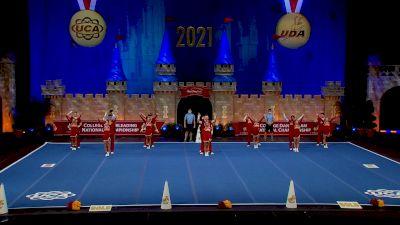 Jones College [2021 Cheer Open Coed Semis] 2021 UCA & UDA College Cheerleading & Dance Team National Championship