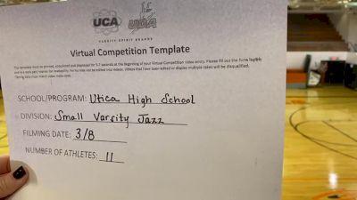 Utica High School [Small Varsity - Jazz] 2021 UCA & UDA March Virtual Challenge