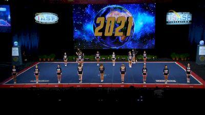 Central Jersey Allstars - Bombshells [2021 L6 Senior Open Finals] 2021 The Cheerleading Worlds