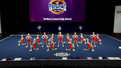 Madison Central High School [2021 Small Junior Varsity Finals] 2021 UCA National High School Cheerleading Championship