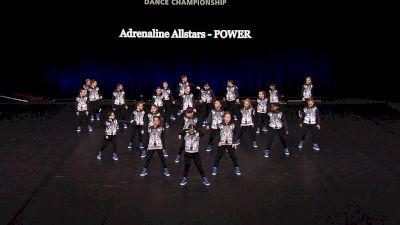 Adrenaline Allstars - POWER [2021 Mini Coed Hip Hop Semis] 2021 The Dance Summit