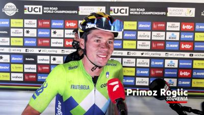 Primoz Roglic: 'It Was A Different Kind Of Jersey And A Different Kind Of Race'