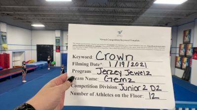 Jerzey Jewelz - Gemz [L2 Junior - D2 - Small] 2021 Spirit Unlimited: Virtual Battle at the Boardwalk