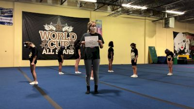 World Cup - Saturn [Level 1.1 L1.1 Junior - PREP] Varsity All Star Virtual Competition Series: Event I