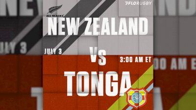 New Zealand All Blacks Return To Action Against Tonga
