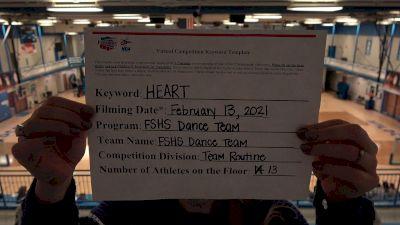 Franklin Simpson High School [Medium Varsity - Team Performance] 2021 NCA & NDA Virtual February Championship