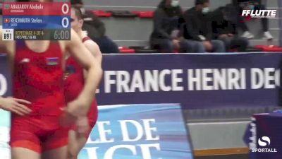 86 kg Bronze - Abubakr Abakarov, Azerbaijan vs Stefan Reichmuth, Switzerland