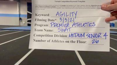 Premier Athletics Nashville - SWAT [L4 Senior - Medium] 2021 Varsity All Star Winter Virtual Competition Series: Event III