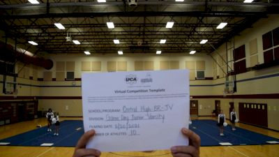Central High School [Game Day JV] 2021 UCA February Virtual Challenge