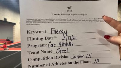Core Athletix - Steel [L4 Junior - Small] 2021 Beast of The East Virtual Championship