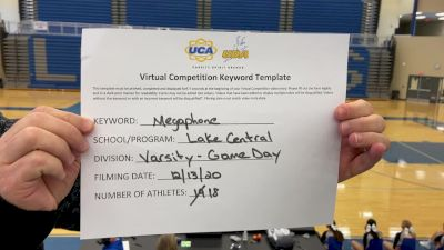 Lake Central High School [Game Day Varsity] 2020 UCA Virtual Regional
