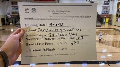 Oakville High School [Virtual Junior Varsity - Game Day Finals] 2021 NDA High School National Championship