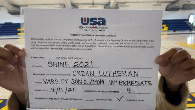 Crean Lutheran High School [Varsity - Song/Pom - Intermediate] USA Spirit & Dance Virtual National Championships