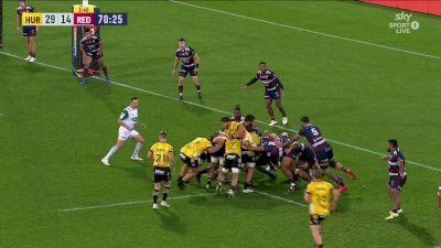 Devan Flanders with a Try vs Queensland Reds
