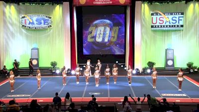 Virginia Royalty Athletics - Diamonds [2019 L5 Senior X-Small Coed Finals] 2019 The Cheerleading Worlds