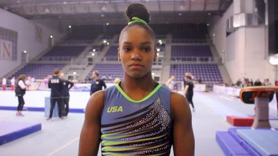 Interview - Shilese Jones (USA) - Training Day 3, 2019 City of Jesolo Trophy