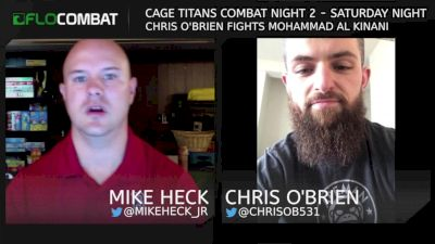 Chris O'Brien Fighting For More Than Glory At Cage Titans Combat Night 2